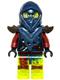 Minifig No: njo150  Name: Blade Master Bansha (70737)