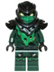 Minifig No: njo154  Name: Evil Green Ninja (Morro / Possessed Lloyd)