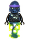 Minifig No: njo155  Name: Chain Master Wrayth (Ghost Lower Body)
