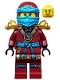 Minifig No: njo165  Name: Nya - Ninja with Armor