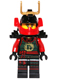 Minifig No: njo166  Name: Nya - Head Mask, Black Armor