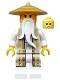 Minifig No: njo168  Name: Sensei Wu - Tan and Gold Outfit (70751)