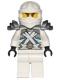 Minifig No: njo185  Name: Zane - Titanium Ninja White