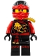 Minifig No: njo194  Name: Kai - Skybound with Gold Scabbard