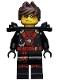 Minifig No: njo261  Name: Kai - Possession, Armor, Hair