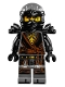 Minifig No: njo280  Name: Cole - Hands of Time, Black Armor (70623)