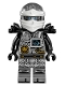 Minifig No: njo285  Name: Zane - Hands of Time, Black Armor (70624)