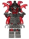Minifig No: njo308  Name: Vermillion Warrior (891726)
