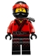 Minifig No: njo316  Name: Kai - The LEGO Ninjago Movie, Pearl Dark Gray Katana Holder