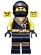 Minifig No: njo322  Name: Cole - The LEGO Ninjago Movie, Arms with Cuffs