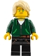 Minifig No: njo338  Name: Lloyd Garmadon - Hair, Hoodie High School Outfit