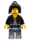 Minifig No: njo355  Name: Nya - Leather Jacket and Jeans High School Outfit (70607)