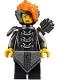 Minifig No: njo412  Name: Misako (Koko) (Lady Iron Dragon) - The LEGO Ninjago Movie