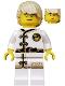 Minifig No: njo429  Name: Lloyd - White Wu-Cru Training Gi, Tousled Hair