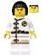 Minifig No: njo430  Name: Nya - White Wu-Cru Training Gi, Black Bob Cut Hair