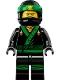 Minifig No: njo432  Name: Lloyd - The LEGO Ninjago Movie, No Arm Printing