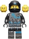 Minifig No: njo475  Name: Nya, Crooked Smile / Scowl - Hunted (70651)
