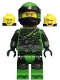 Minifig No: njo481  Name: Lloyd - Hunted, Green Wrap