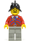 Minifig No: pi010  Name: Imperial Armada - Red