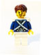 Minifig No: pi151  Name: Bluecoat Sergeant 2 - Stubble