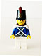 Minifig No: pi152  Name: Bluecoat Soldier 1 - Smile