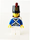 Minifig No: pi155  Name: Bluecoat Soldier 4 - Sweat Drops