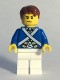 Minifig No: pi173  Name: Bluecoat Soldier 5 - Sweat Drops, Reddish Brown Hair