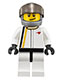 Minifig No: sc003  Name: McLaren Race Car Driver