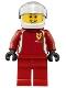 Minifig No: sc007  Name: Ferrari Race Car Driver 2