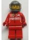 Minifig No: sc012  Name: Ferrari Race Car Driver 3