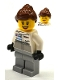 Minifig No: sc031  Name: Porsche Mechanic - Female