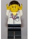 Minifig No: sc046  Name: Mercedes AMG Petronas Formula One Team Manager