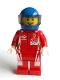 Minifig No: sc066  Name: Ferrari 488 GTE Race Car Driver