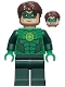Minifig No: sh001  Name: Green Lantern (Comic-Con 2011 Exclusive)