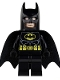 Lot ID: 50000140  Minifig No: sh016  Name: Batman - Black Suit with Yellow Belt and Crest (Type 1 Cowl)