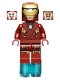 Minifig No: sh036  Name: Iron Man with Circle on Chest