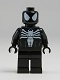 Minifig No: sh045  Name: Spider-Man in Black Symbiote Costume (Comic-Con 2012 Exclusive)