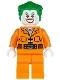 Minifig No: sh061  Name: The Joker - Prison Jumpsuit