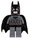 Minifig No: sh064  Name: Batman, Dark Bluish Gray Suit with Copper Belt