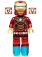 Minifig No: sh065  Name: Iron Man Mark 42 Armor