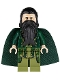 Minifig No: sh070  Name: The Mandarin (Dark Green Cape)