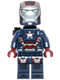 Minifig No: sh084  Name: Iron Patriot