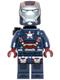 Minifig No: sh084  Name: Iron Patriot