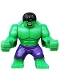 Minifig No: sh095  Name: Hulk - Dark Purple Pants