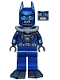 Minifig No: sh097  Name: Batman -  Dark Blue Wetsuit