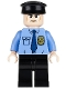 Minifig No: sh109  Name: Armored Truck Driver