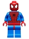 Minifig No: sh115  Name: Spider-Man - Black Web Pattern, Red Hips