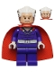Minifig No: sh119  Name: Magneto - Dark Purple Outfit