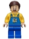 Minifig No: sh149  Name: Truck Driver - Overalls