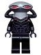 Minifig No: sh160  Name: Black Manta